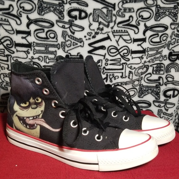 fdd5339dfc5e Converse Shoes - Gorillaz Murdoc Converse - LIMITED EXCLUSIVE RARE